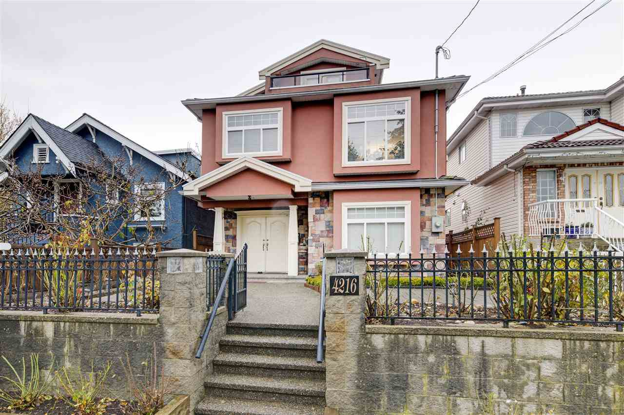 Main Photo: 4216 INVERNESS Street in Vancouver: Knight House for sale (Vancouver East)  : MLS®# R2525645