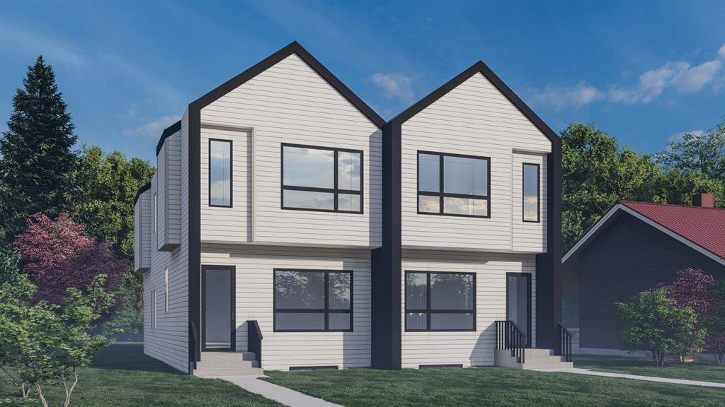 Main Photo: 523 21 Avenue NW in Calgary: Mount Pleasant Semi Detached for sale : MLS®# A1058798