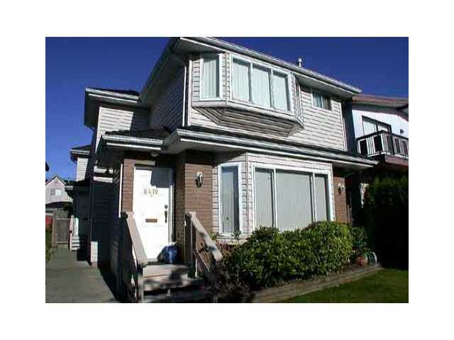 Main Photo: 8419 OSLER Street in Vancouver: Marpole 1/2 Duplex for sale (Vancouver West)  : MLS®# V841839