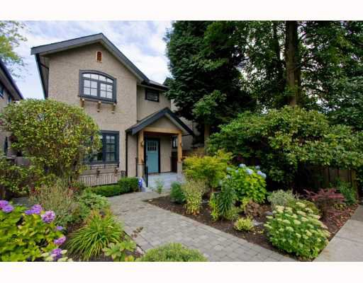 Main Photo: 2926 TRIMBLE Street in Vancouver: Point Grey House for sale (Vancouver West)  : MLS®# V782169