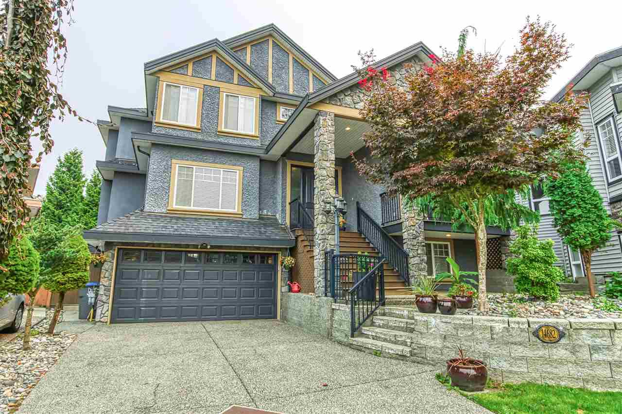 "Main Photo: 14682 61A Avenue in Surrey: Sullivan Station House for sale in ""Sullivan"" : MLS®# R2499209"