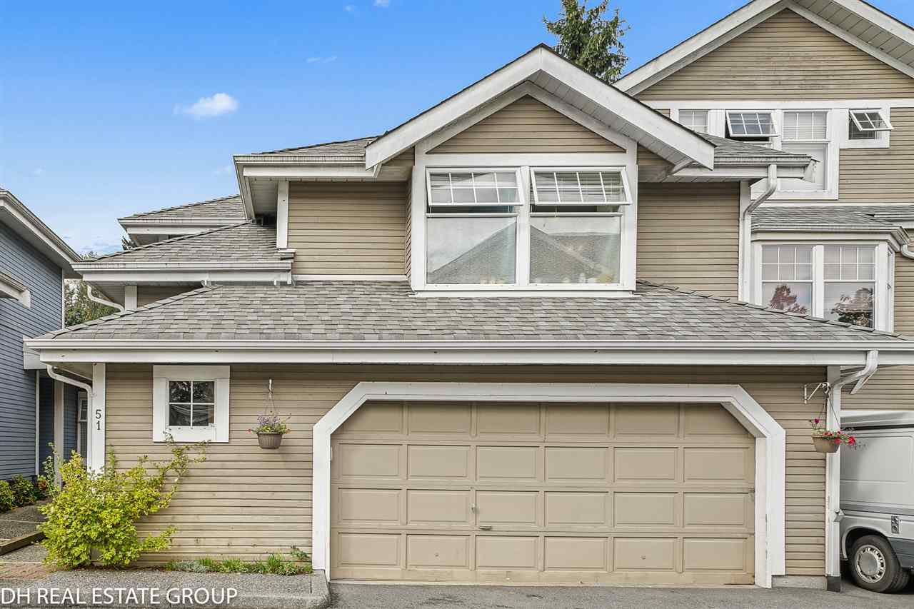 Main Photo: 51 1140 FALCON DRIVE in Coquitlam: Eagle Ridge CQ Townhouse for sale : MLS®# R2501709