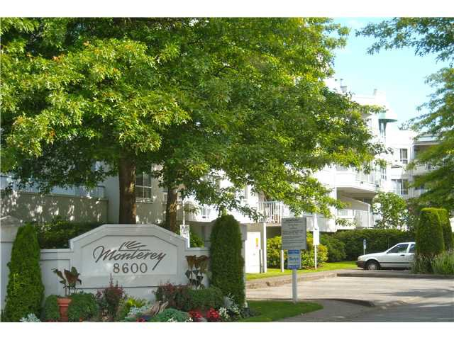 """Main Photo: 313 8600 GENERAL CURRIE Road in Richmond: Brighouse South Condo for sale in """"MONTEREY"""" : MLS®# V838792"""