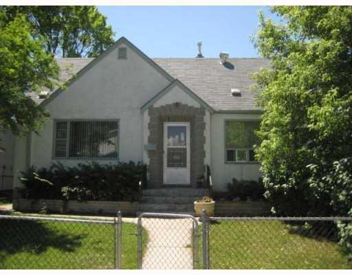 Main Photo: 332 BOWMAN Avenue in WINNIPEG: East Kildonan Residential for sale (North East Winnipeg)  : MLS®# 2912084