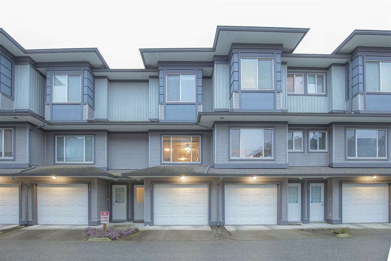 "Main Photo: 115 18701 66 Avenue in Surrey: Cloverdale BC Townhouse for sale in ""ENCORE AT HILLCREST"" (Cloverdale)  : MLS®# R2439524"