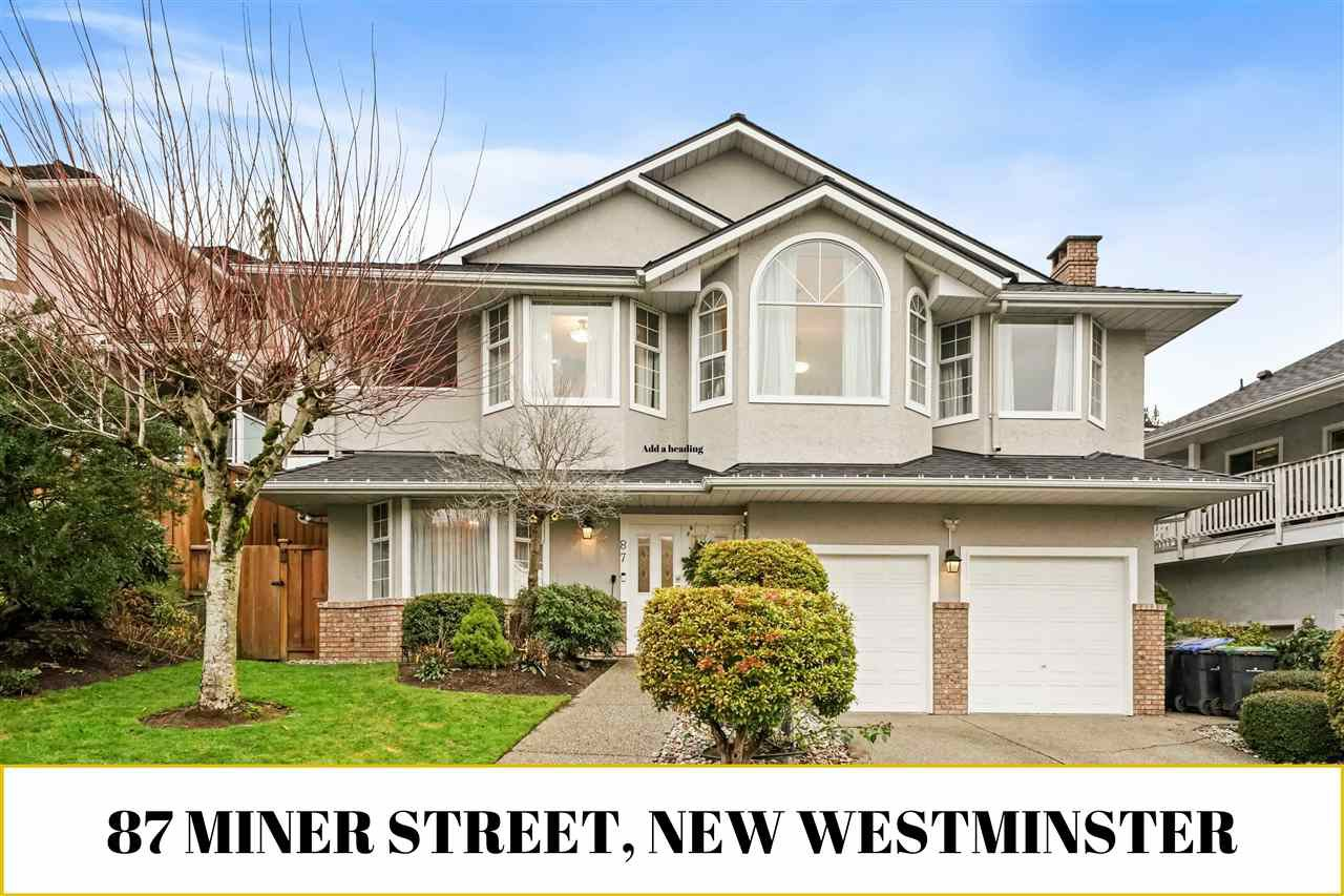 Main Photo: 87 MINER Street in New Westminster: Fraserview NW House for sale : MLS®# R2526114