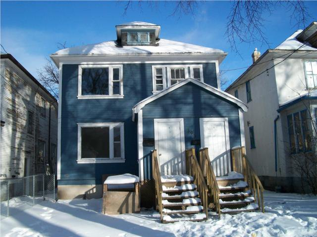 Main Photo: 393 Alfred Avenue in WINNIPEG: North End Residential for sale (North West Winnipeg)  : MLS®# 1000580