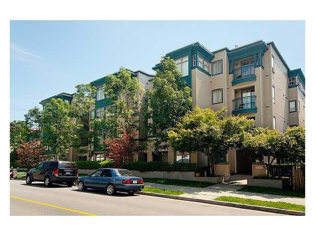 "Main Photo: 209 688 E 16TH Avenue in Vancouver: Fraser VE Condo for sale in ""VINTAGE EASTSIDE"" (Vancouver East)  : MLS®# V838623"