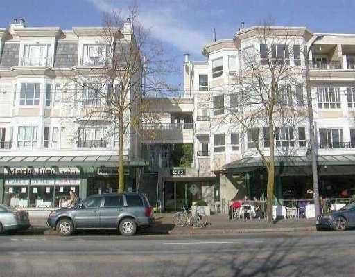 "Main Photo: 249 2565 W BROADWAY Street in Vancouver: Kitsilano Condo for sale in ""TRAFALGAR MEWS"" (Vancouver West)  : MLS®# V776963"