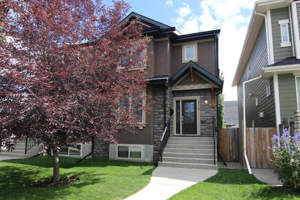 Main Photo: 3110 4A Street NW in Calgary: Mount Pleasant Semi Detached for sale : MLS®# A1059835