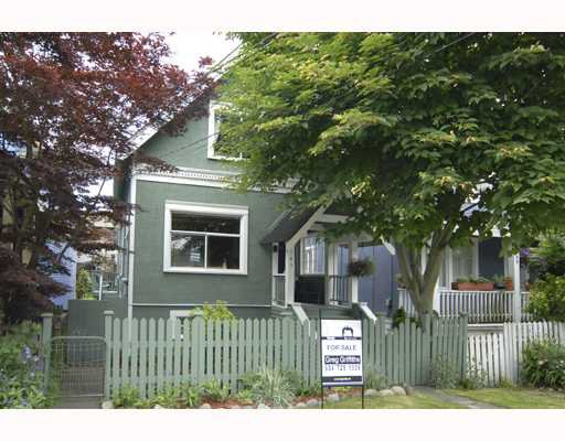 Main Photo: 1141 MCLEAN Drive in Vancouver: Grandview VE House for sale (Vancouver East)  : MLS®# V720822