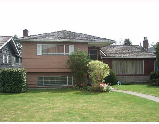 Main Photo: 720 W 53RD Avenue in Vancouver: South Cambie House for sale (Vancouver West)  : MLS®# V763350