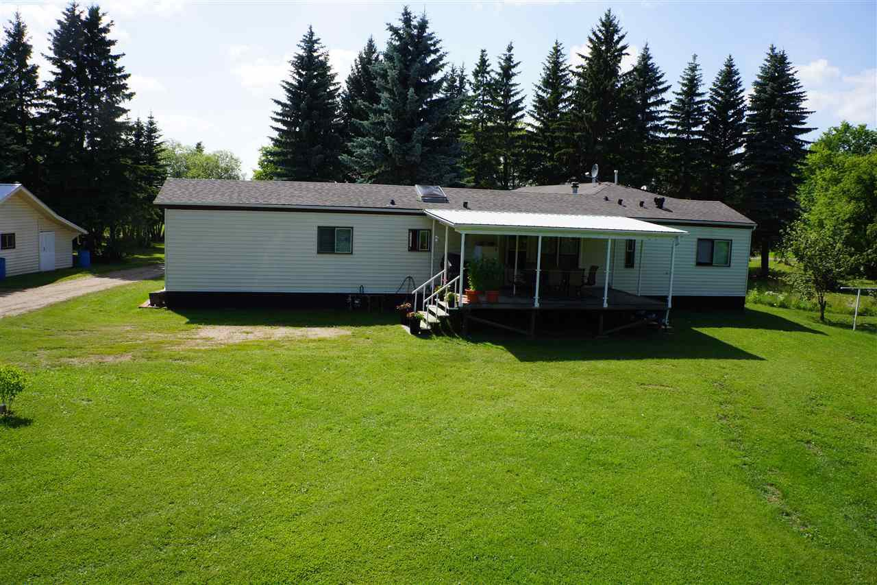 Main Photo: 54447 RGE RD 205: Rural Strathcona County Manufactured Home for sale : MLS®# E4167018