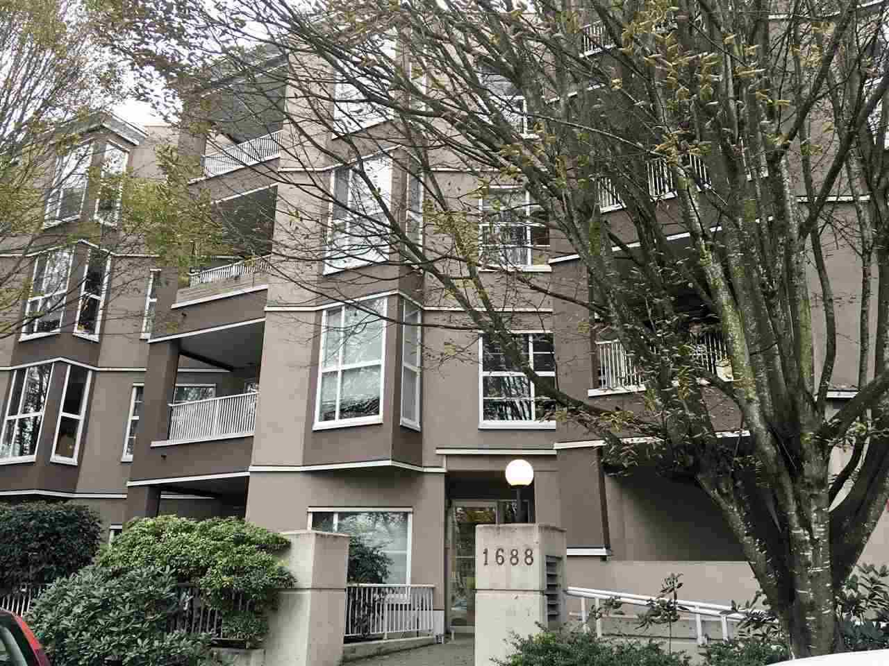 "Main Photo: 207 1688 E 8TH Avenue in Vancouver: Grandview Woodland Condo for sale in ""LA REZIDENZA"" (Vancouver East)  : MLS®# R2454576"
