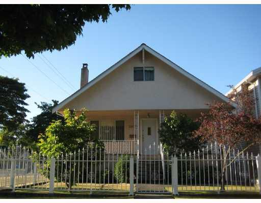 Main Photo: 2803 FRANKLIN Street in Vancouver: Hastings East House for sale (Vancouver East)  : MLS®# V757113