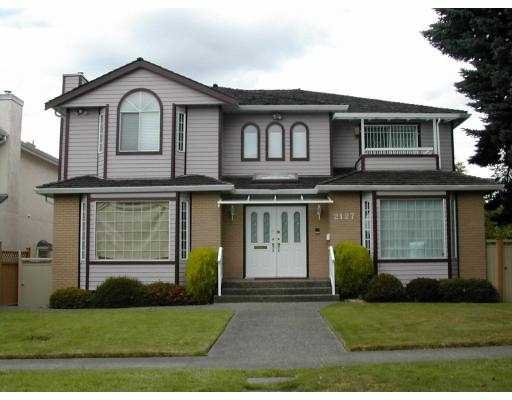 Main Photo: 2127 W 21ST Avenue in Vancouver: Arbutus House for sale (Vancouver West)  : MLS®# V772787