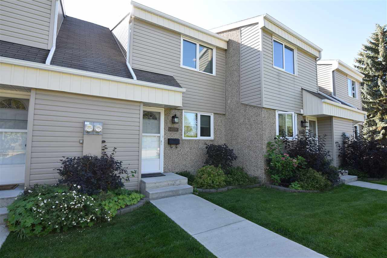 Main Photo: 14819C RIVERBEND Road in Edmonton: Zone 14 Townhouse for sale : MLS®# E4172604