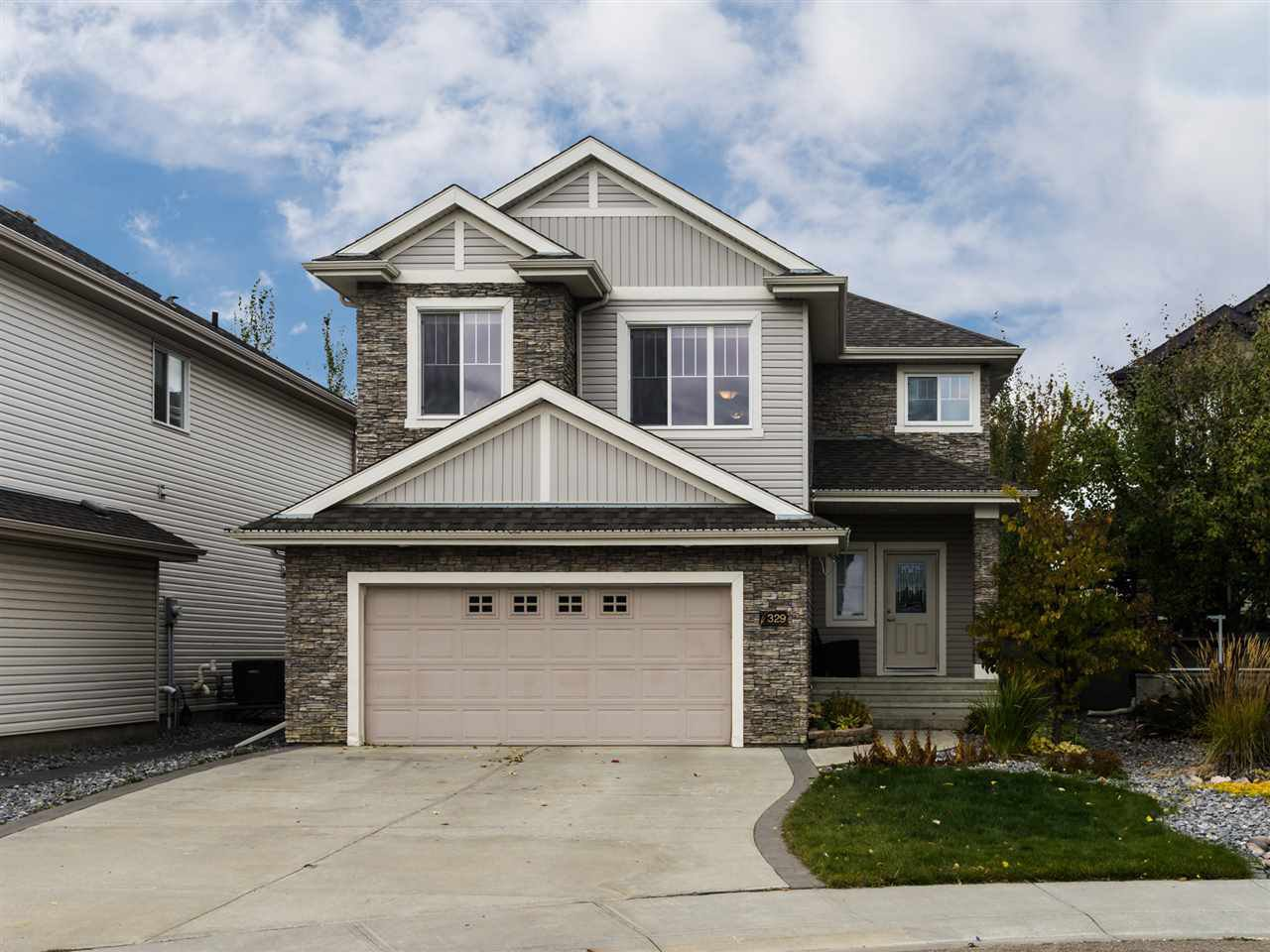 Main Photo: 329 CALLAGHAN Close in Edmonton: Zone 55 House for sale : MLS®# E4176850