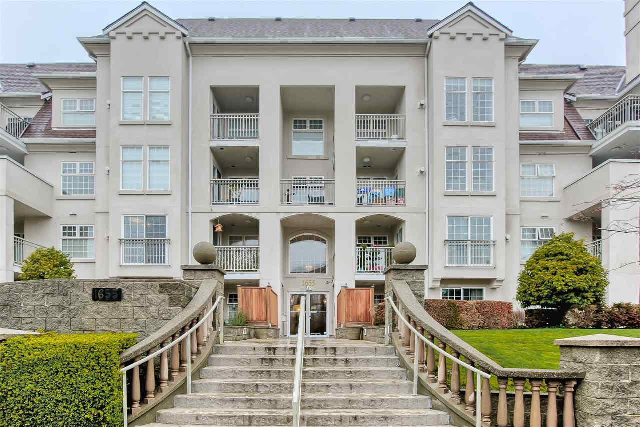 "Main Photo: 106 1655 GRANT Avenue in Port Coquitlam: Glenwood PQ Condo for sale in ""THE BENTON"" : MLS®# R2422946"
