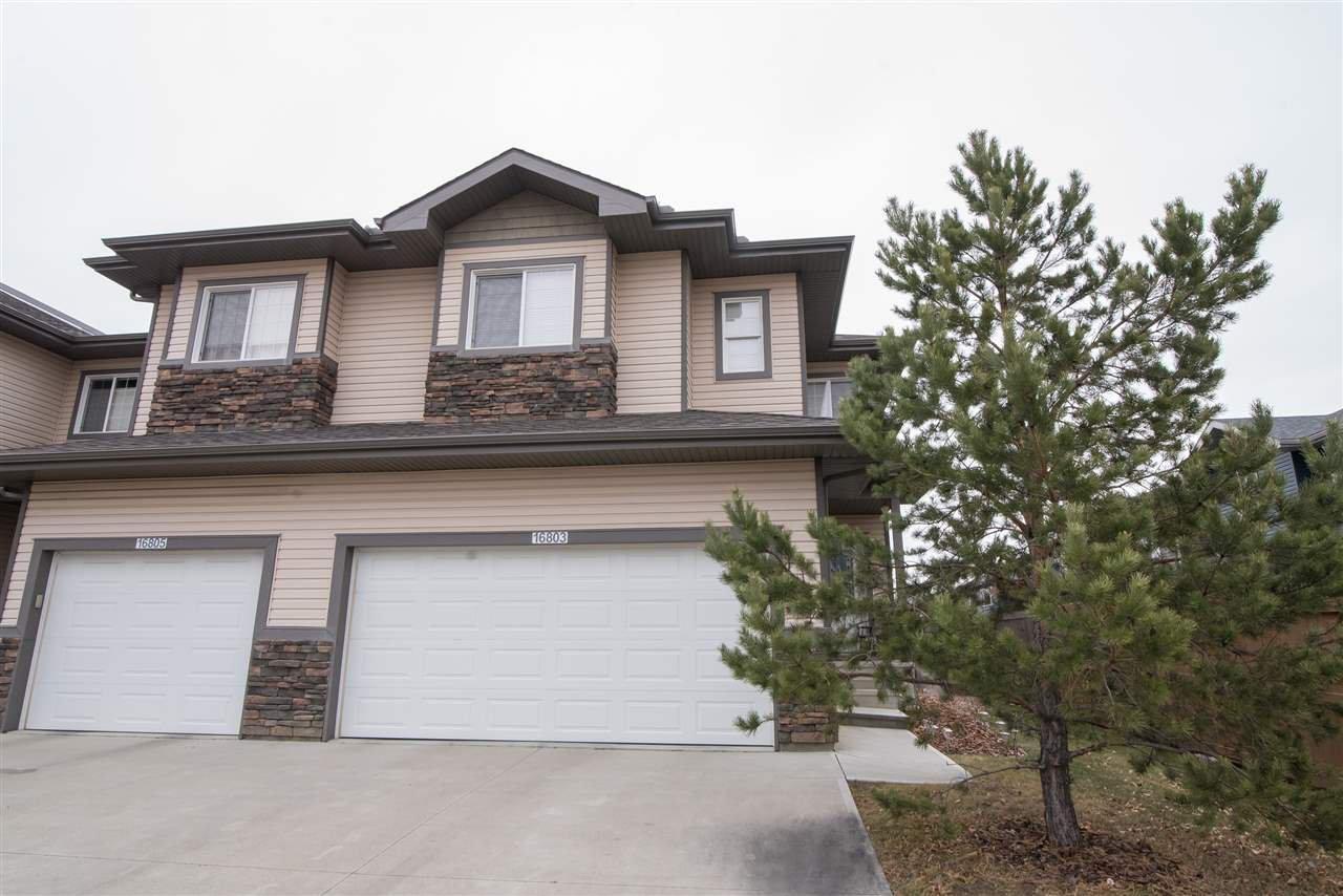 Main Photo: 16803 55 Street in Edmonton: Zone 03 Townhouse for sale : MLS®# E4192399