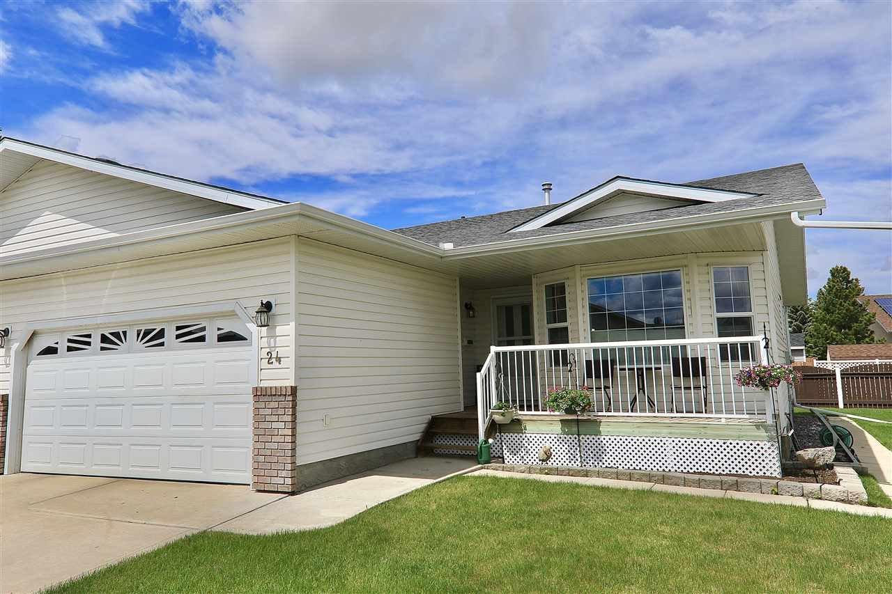 Main Photo: 24 4410 52 Avenue: Wetaskiwin House Half Duplex for sale : MLS®# E4199079