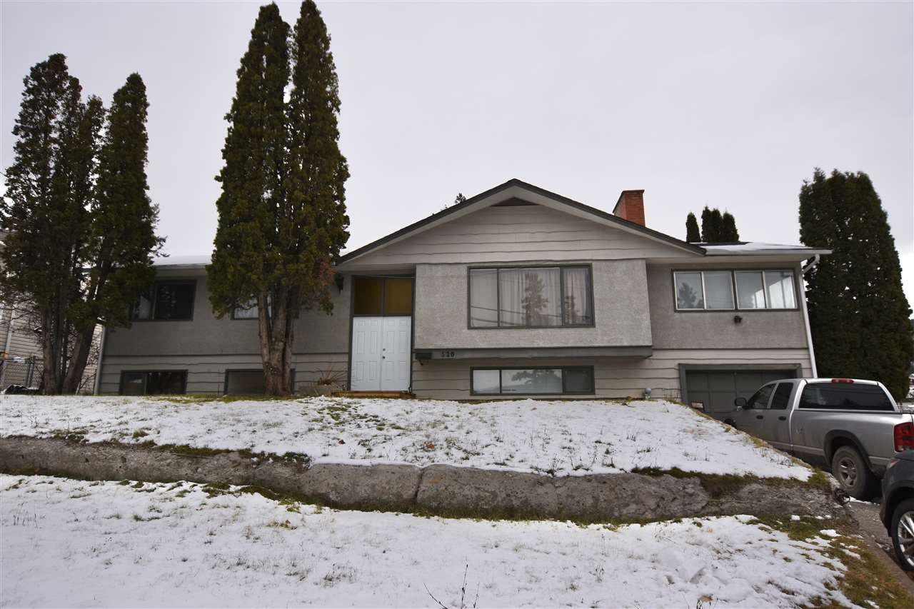 Main Photo: 520 PIGEON Avenue in Williams Lake: Williams Lake - City House for sale (Williams Lake (Zone 27))  : MLS®# R2517675