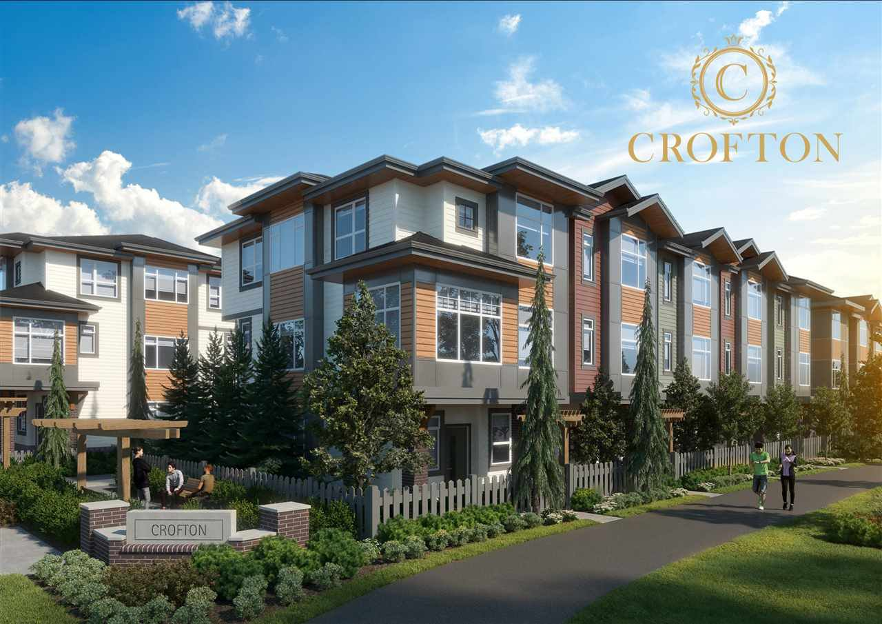 """Main Photo: 11 20763 76 Avenue in Langley: Willoughby Heights Townhouse for sale in """"CROFTON"""" : MLS®# R2519766"""