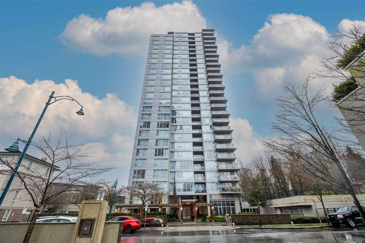"""Main Photo: 1005 660 NOOTKA Way in Port Moody: Port Moody Centre Condo for sale in """"NAHANNI"""" : MLS®# R2525870"""