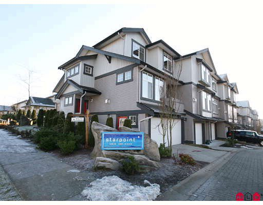 "Main Photo: 33 18828 69TH Avenue in Surrey: Clayton Townhouse for sale in ""STARPOINT"" (Cloverdale)  : MLS®# F2901097"