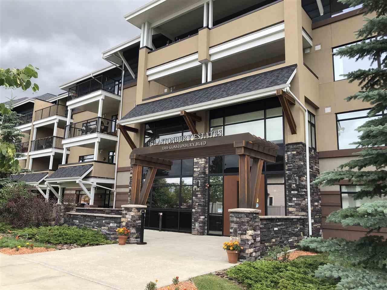 Main Photo: 410 1589 GLASTONBURY Boulevard in Edmonton: Zone 58 Condo for sale : MLS®# E4170557