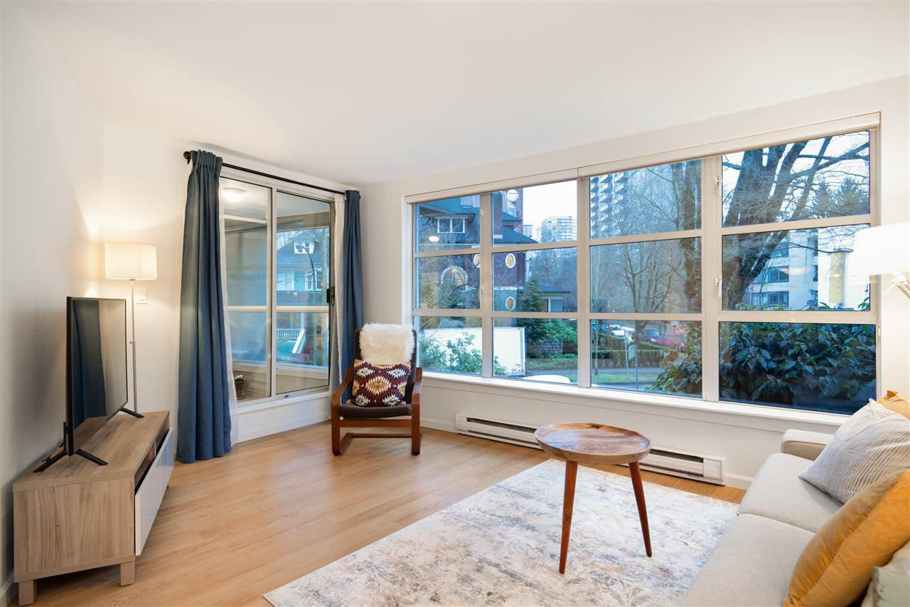"Main Photo: 206 1705 NELSON Street in Vancouver: West End VW Condo for sale in ""PALLADIAN"" (Vancouver West)  : MLS®# R2430486"
