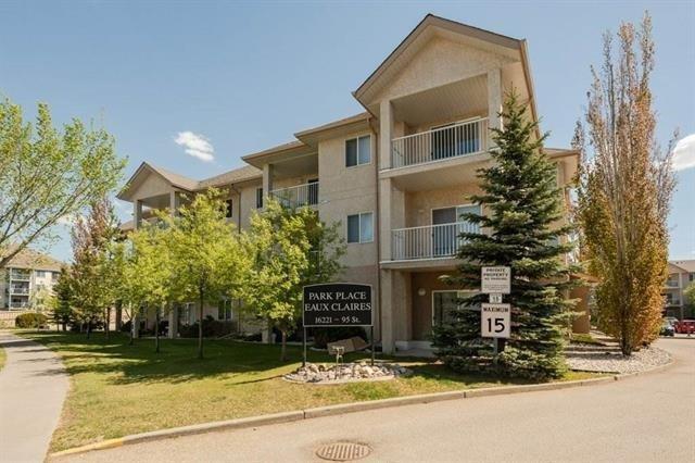 Main Photo: 214 16221 95 Street NW in Edmonton: Zone 28 Condo for sale : MLS®# E4185481