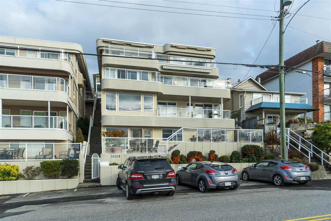 "Main Photo: 102 15129 MARINE Drive: White Rock Condo for sale in ""SAN JUAN TERRACE"" (South Surrey White Rock)  : MLS®# R2431865"