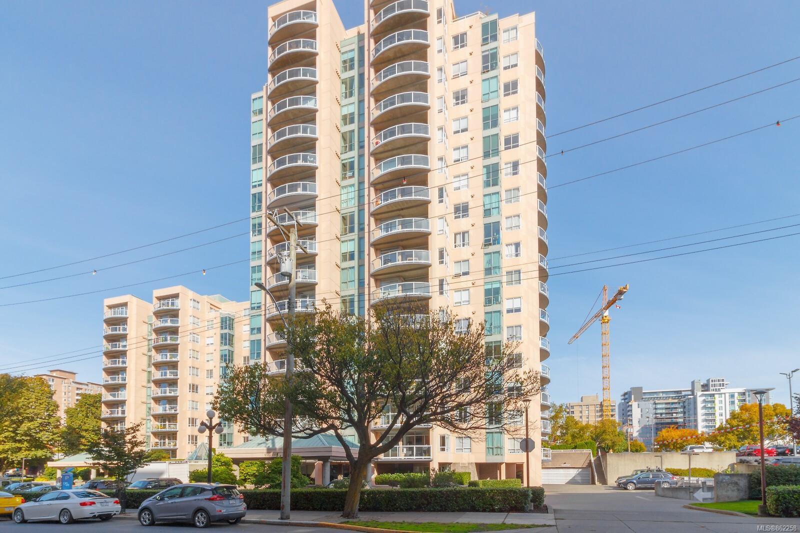 Main Photo: 804 1020 View St in : Vi Downtown Condo for sale (Victoria)  : MLS®# 862258