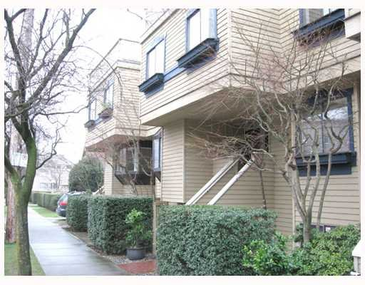 Main Photo: 5 1263 W 8TH Avenue in Vancouver: Fairview VW Townhouse for sale (Vancouver West)  : MLS®# V773393