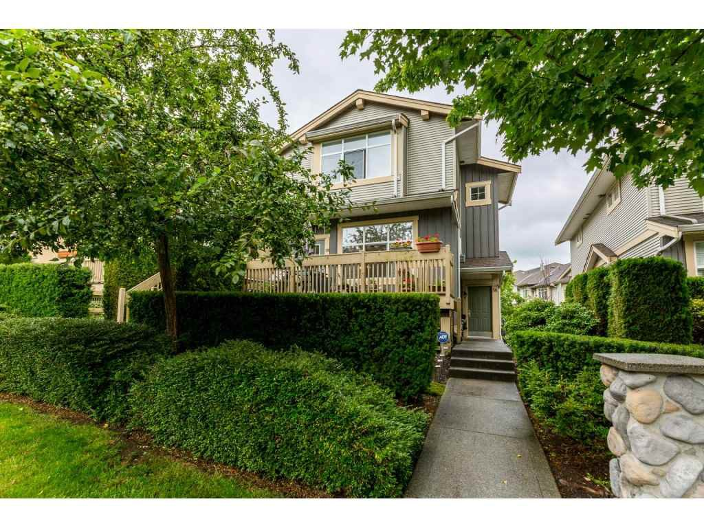 "Main Photo: 58 14959 58 Avenue in Surrey: Sullivan Station Townhouse for sale in ""SKYLANDS"" : MLS®# R2389547"