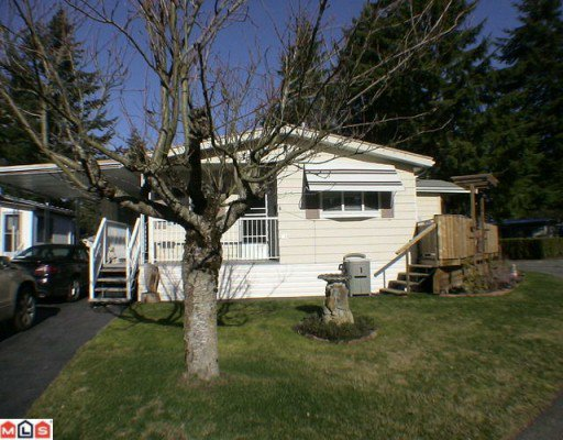 "Main Photo: 144 3665 244TH Street in Langley: Otter District Manufactured Home for sale in ""LANGLEY GROVE ESTATES"" : MLS®# F1003945"