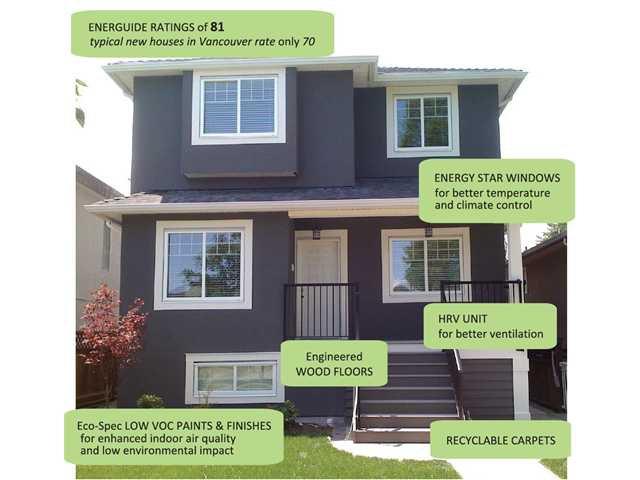 Main Photo: 5205 CHESTER Street in Vancouver: Fraser VE House for sale (Vancouver East)  : MLS®# V837884