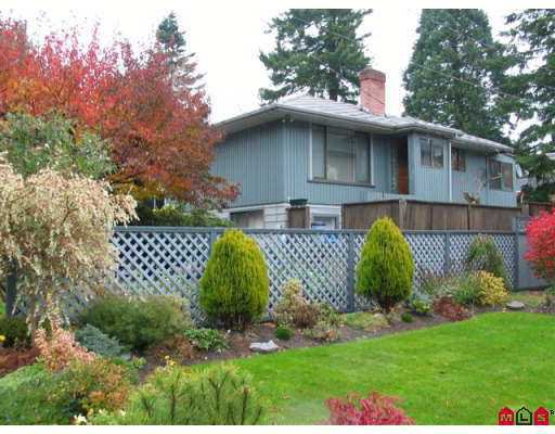 Main Photo: 1398 129TH Street in White Rock: Crescent Bch Ocean Pk. House for sale (South Surrey White Rock)  : MLS®# F2625233
