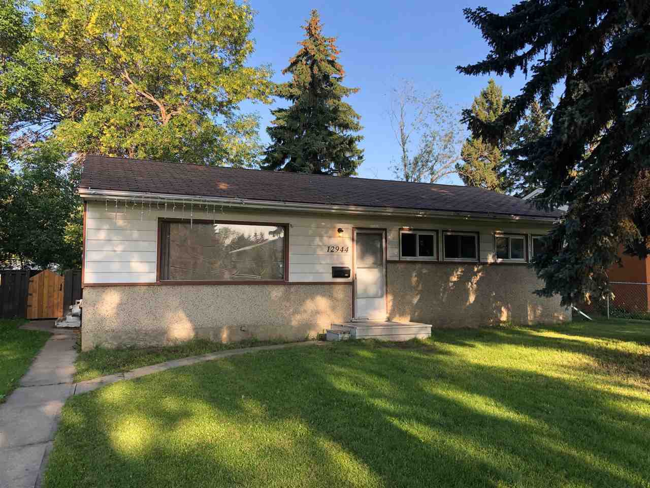 Main Photo: 12944 114 Street in Edmonton: Zone 01 House for sale : MLS®# E4170927