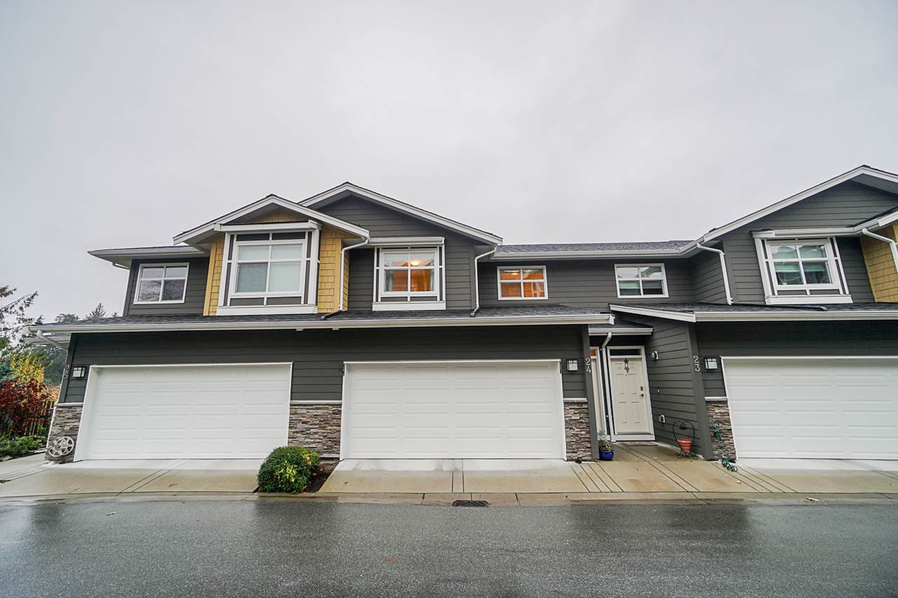 """Main Photo: 24 11461 236 Street in Maple Ridge: Cottonwood MR Townhouse for sale in """"Two Birds"""" : MLS®# R2419750"""