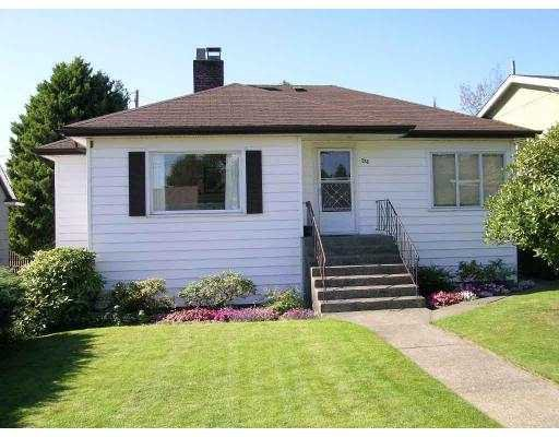 Main Photo: 722 BOWLER ST in New Westminster: West End NW House for sale : MLS®# V558237