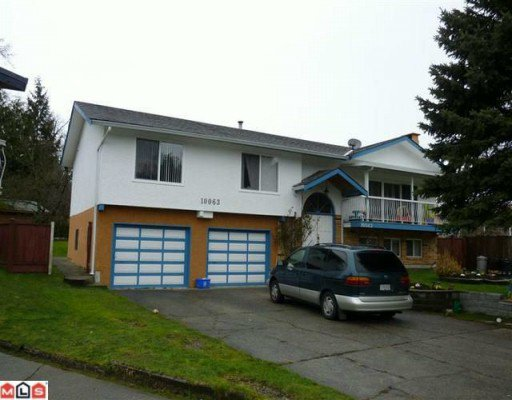 Main Photo: 10063 143A Street in Surrey: Whalley House for sale (North Surrey)  : MLS®# F1003718