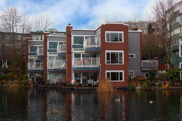 Main Photo: 1591 MARINER Walk in Vancouver: False Creek Townhouse for sale (Vancouver West)  : MLS®# V868447