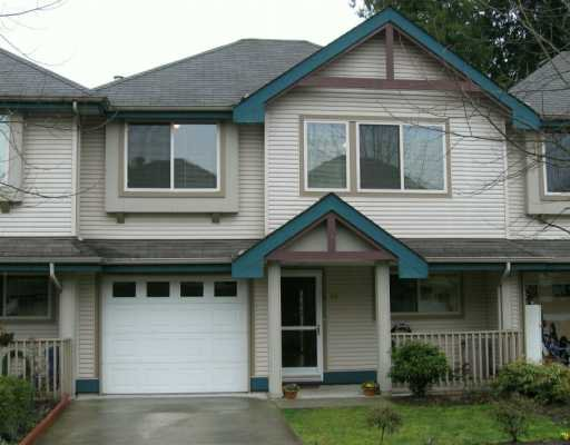 "Main Photo: 23 11860 210TH ST in Maple Ridge: Southwest Maple Ridge Townhouse for sale in ""Westside Court"" : MLS®# V577323"