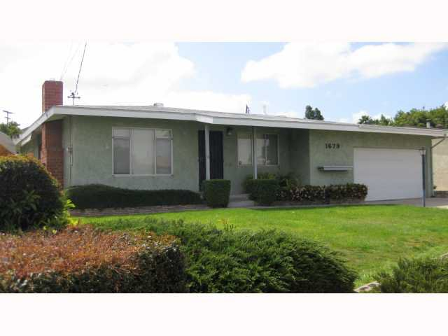 Main Photo: LEMON GROVE House for sale : 3 bedrooms : 1679 Watwood Road