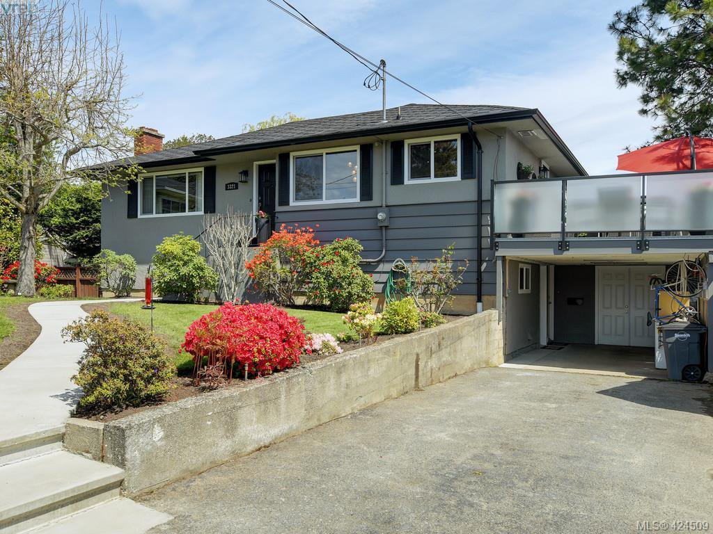 Main Photo: 3321 Keats St in VICTORIA: SE Cedar Hill Single Family Detached for sale (Saanich East)  : MLS®# 838417