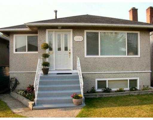 """Main Photo: 3553 E 23RD Ave in Vancouver: Renfrew Heights House for sale in """"RENFREW HEIGHTS"""" (Vancouver East)  : MLS®# V618121"""