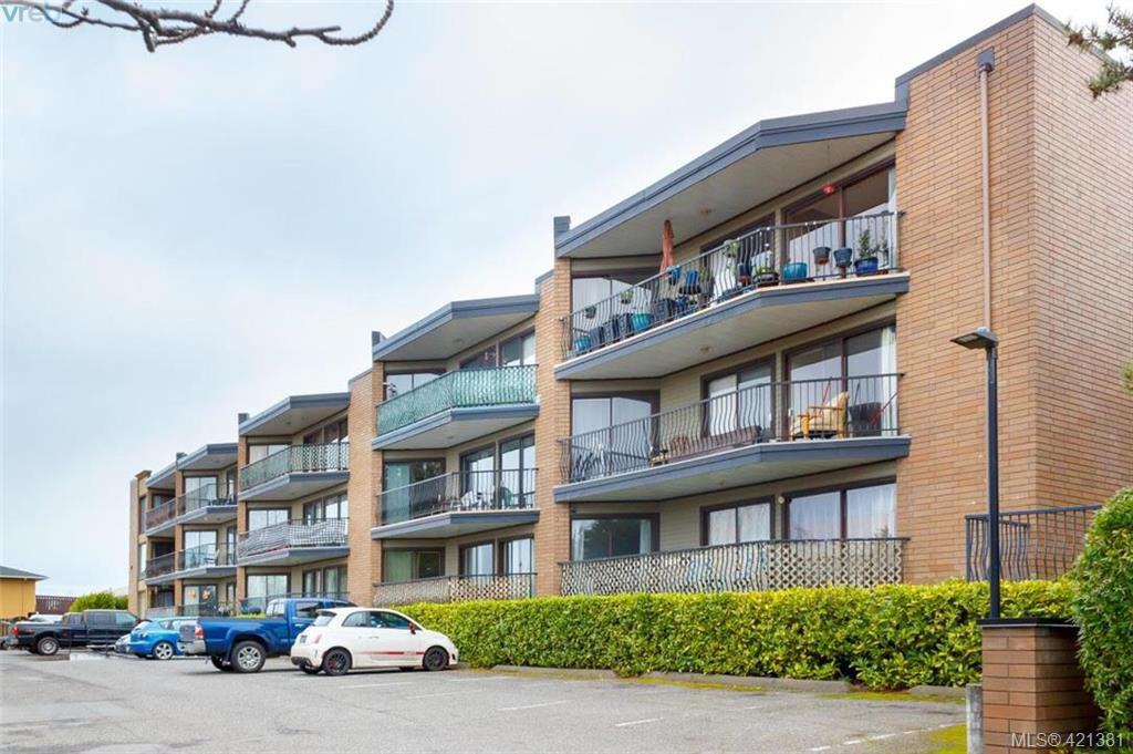 Main Photo: 321 1870 McKenzie Ave in VICTORIA: SE Lambrick Park Condo for sale (Saanich East)  : MLS®# 833953