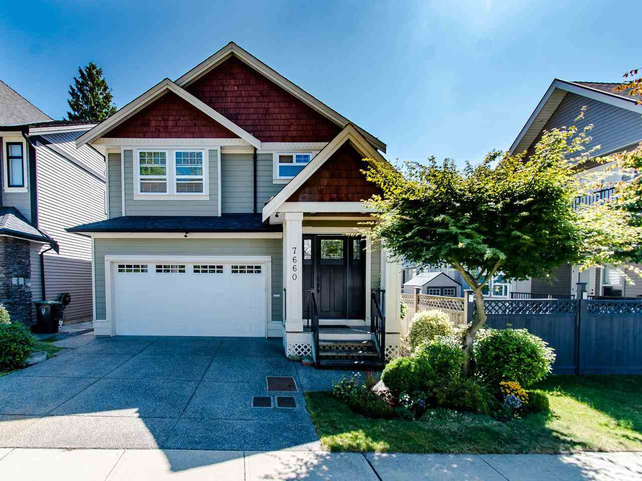 """Main Photo: 7660 210 Street in Langley: Willoughby Heights House for sale in """"WILLOUGHBY - YORKSON"""" : MLS®# R2483693"""